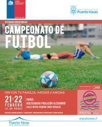 """Campeonato de Fútbol """"Promesas del Mañana"""""""