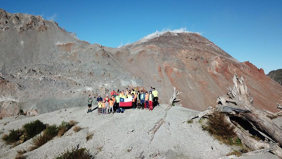 Diario Puerto Varas Ascenso al volcán Chaitén