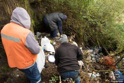 Diario Puerto Varas Municipio erradica micro basural en Saltos de Petrohué