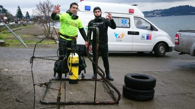 Limpieza a Fondo del Lago Llanquihue