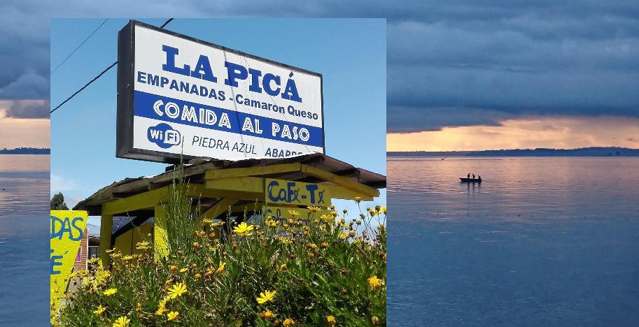 "Diario Puerto Varas ""La Picá"" Empanadas de Piedra Azul"