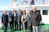 Diario Puerto Varas Comisión de Pesca sesiona a bordo del buque científico Abate Molina