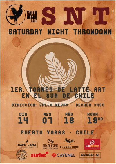 Saturday Night Throwdown (SNT) Diario Puerto Varas