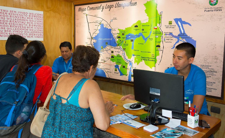 Aumento en atenciones: Oficina Municipal de Información Turística Puerto Varas/ Diario Puerto Varas