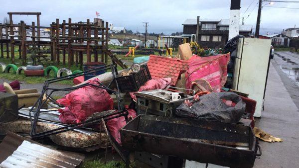 Diario Puerto Varas Retiro de voluminosos en Nueva Braunau