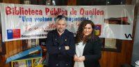 Diario Puerto Varas Jorge Baradit en Tertulias Literarias en Queilen