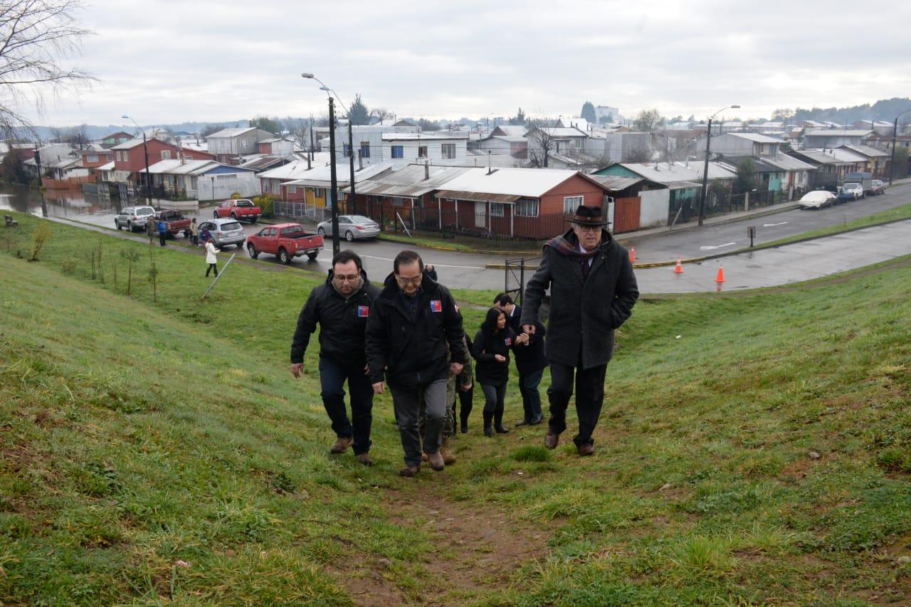 Diario Puerto Varas Sectores afectados por desborde de río Rahue en Osorno