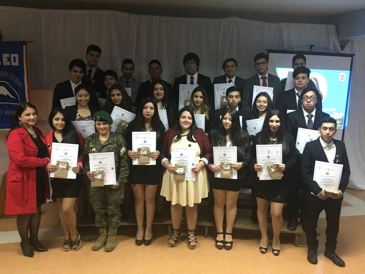 Diario Puerto Varas Titulación Alumnos Liceo Pedro Aguirre Cerda