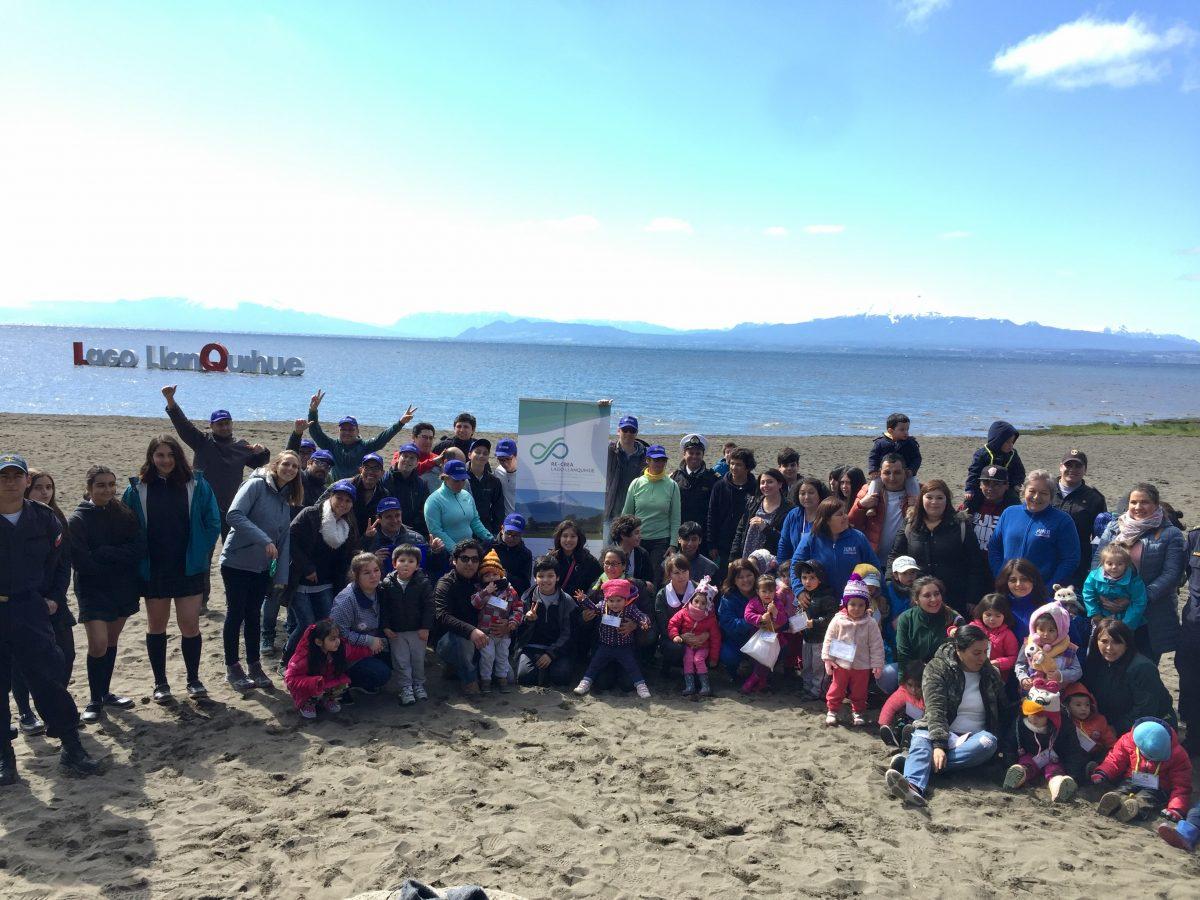 Alumnos de Puerto Varas y Llanquihue se unen en limpieza de playa - ReCrea - Diario Puerto Varas