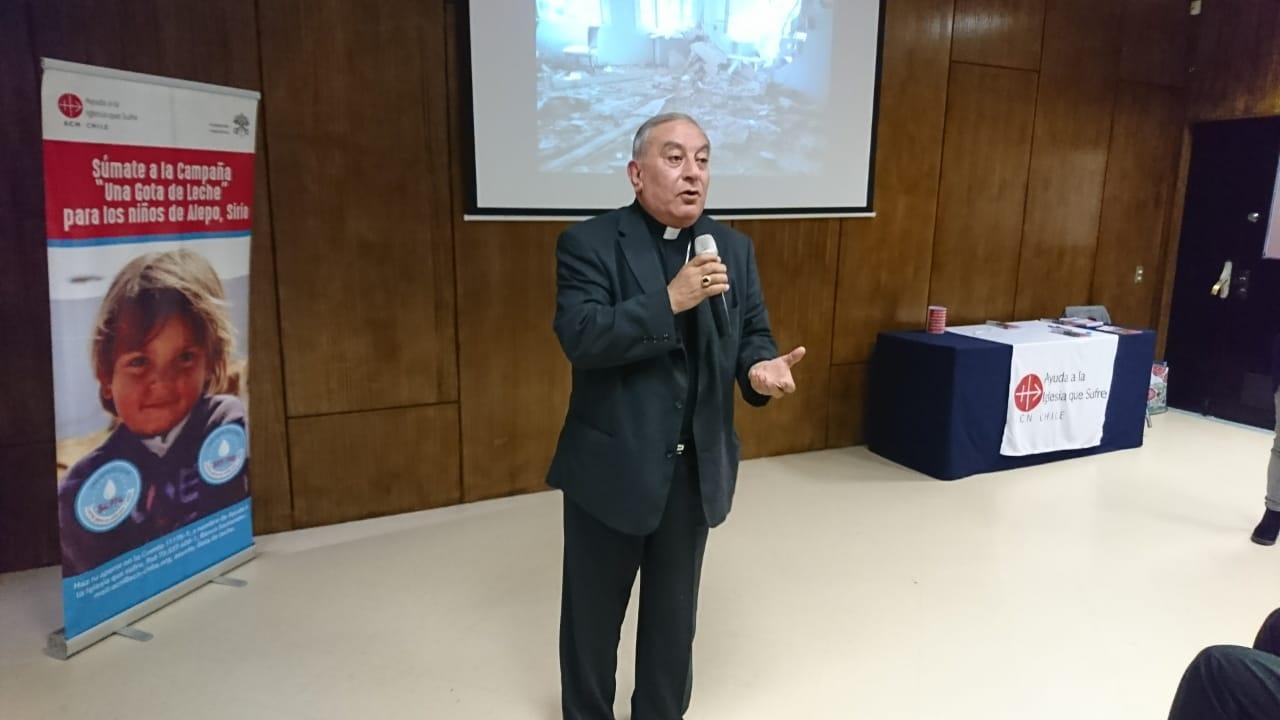 Antonie Chahda, el arzobispo Sirio católico de la ciudad de Alepo - Diario Puerto Varas