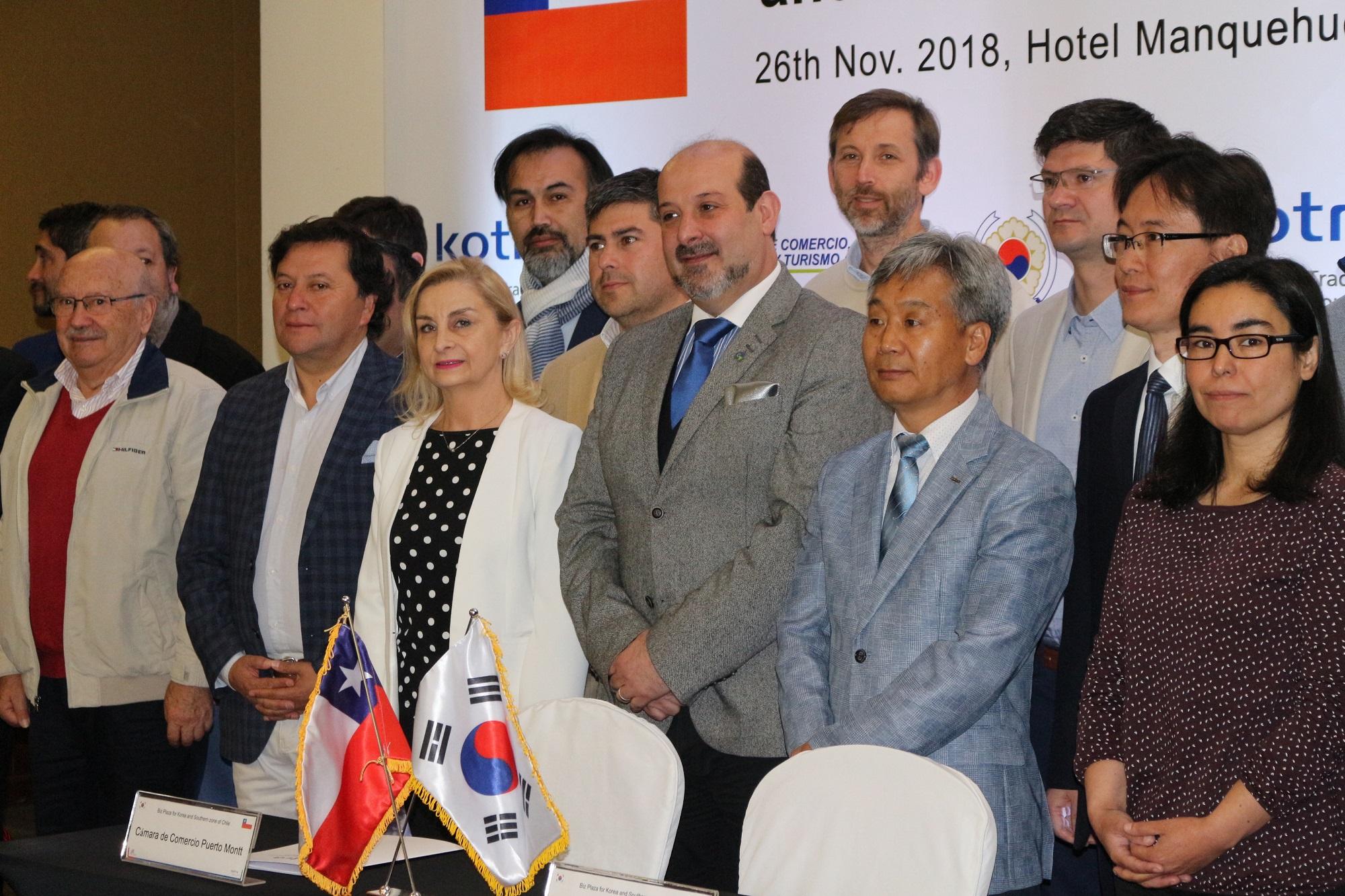 Cámara de Comercio suscribe acuerdo de cooperación con Embajada de Corea - Diario Puerto Varas