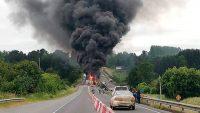 Consejeros solicitan inversión pública por accidente en Ruta 5