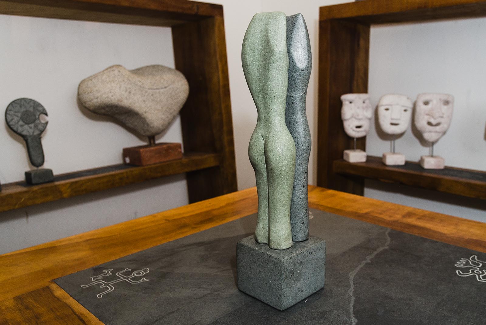 Esculturas Marco Antonio Fuentes - Diario Puerto Varas - 3er Encuentro de Arte, Diseño y Artesanía - Bosque Nativo
