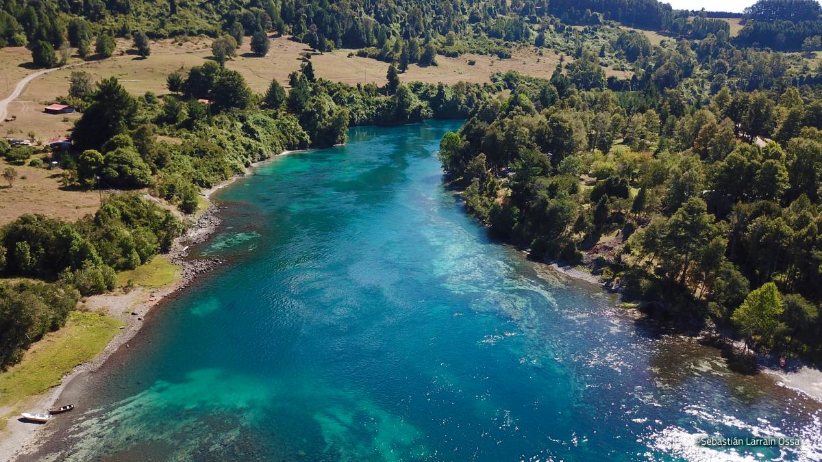 Río San Pedro, fotografía de Sebastián Larrain Ossa - Fundación Geute Conservación Sur - Diario Puerto Varas