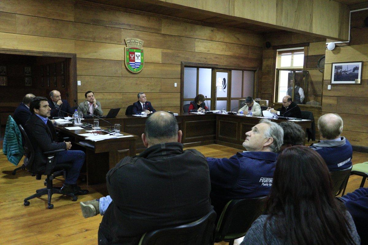 Concejo Municipal aprobó concesión de estacionamientos para el Cuerpo de Bomberos de Puerto Varas - Diario Puerto Varas