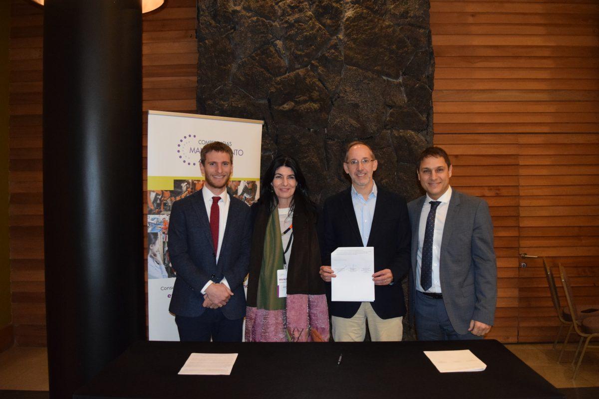 Fotografía del Consejo de Competencias Mantenimiento 4.0 - FCH y SENCE firman acuerdo que permitirá capacitar y mejorar la empleabilidad de mil personas a nivel nacional – Diario Puerto Varas