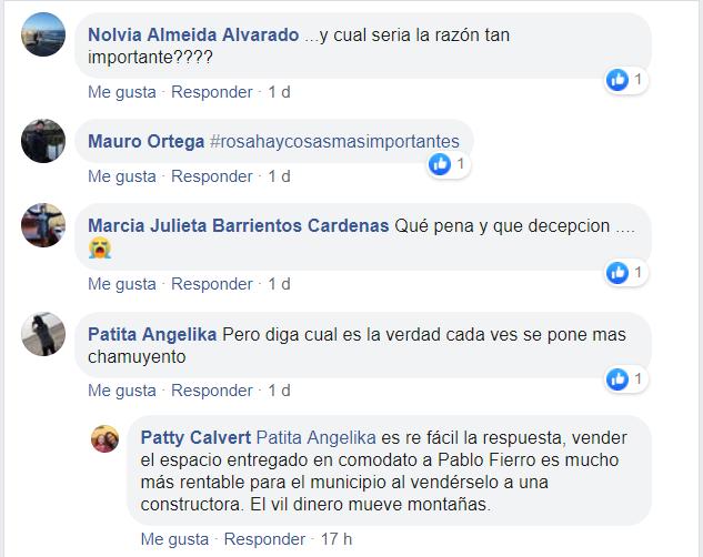 Apoyo en redes sociales a Pablo Fierro - Diario Puerto Varas