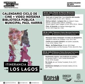Ciclo de Cine + Video Indígena - Diario Puerto Varas