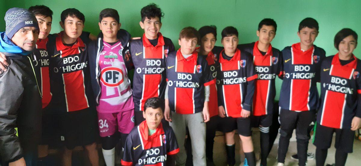 Población Bernardo O'Higgins - Escuela Municipal de Fútbol - Diario Puerto Varas