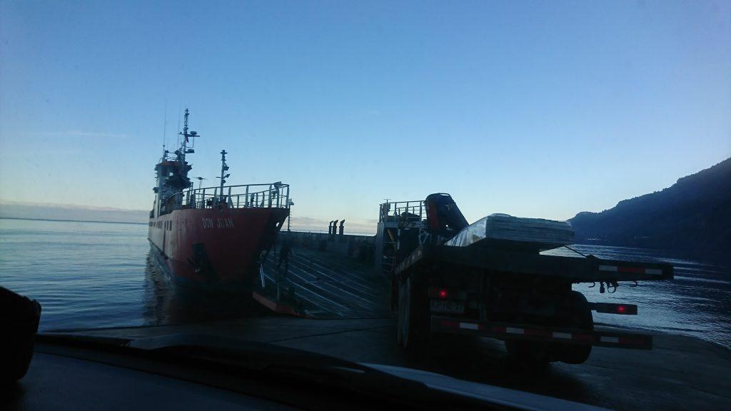 Transbordador en Caleta La Arena - Diario Puerto Varas