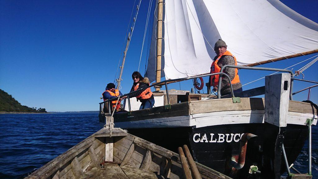 """M – Elizabeth"" lancha chilota a vela tradicional - Diario Puerto Varas"