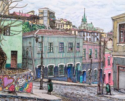 Christopher Ríos - El poder de dibujar - Diario Puerto Varas