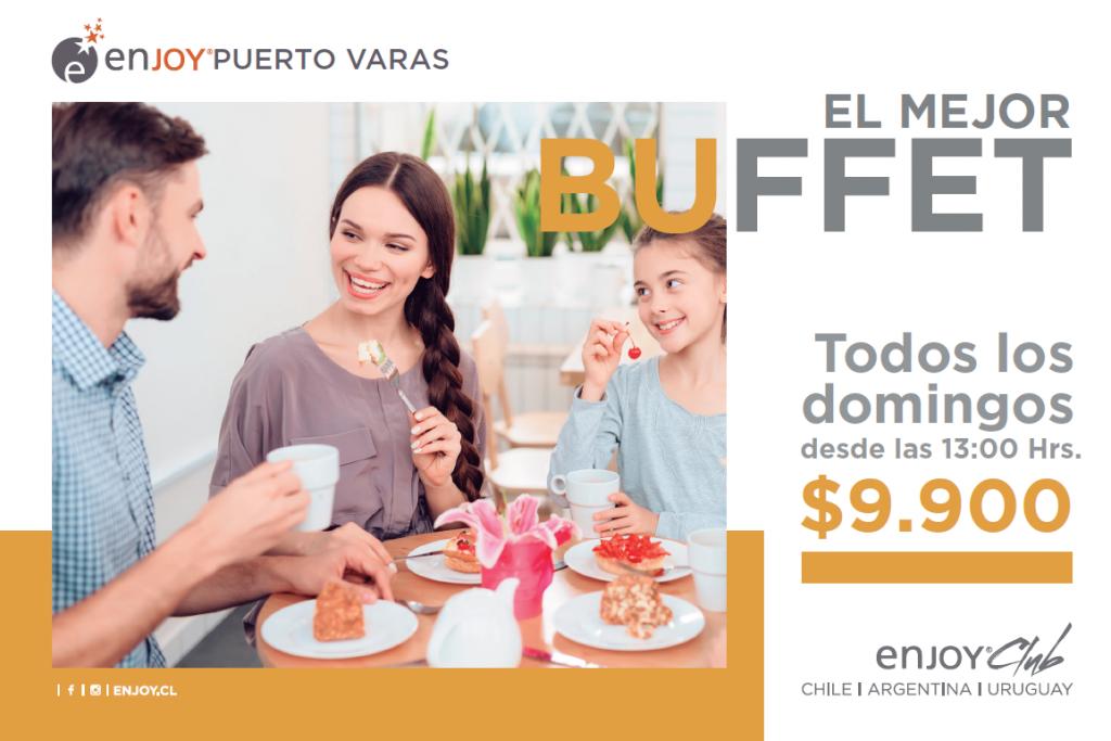 Buffet - Hotel Enjoy Puerto Varas - Diario Puerto Varas
