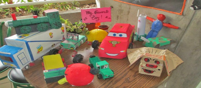 juguetes reciclados - Diario Puerto Varas