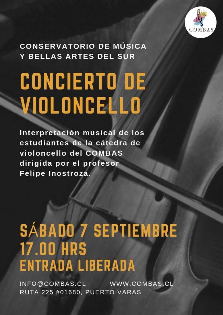 concierto estudiantes de violoncello - Diario Puerto Varas
