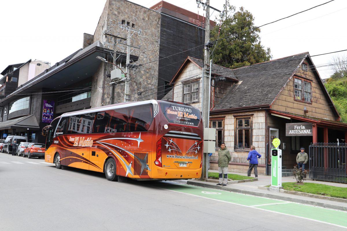 Puerto Varas reordena estacionamientos de buses de turismo -Diario Puerto Varas