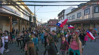 La ciudadanía se sigue expresando en las calles de Puerto Varas - Diario Puerto Varas