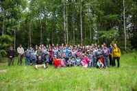 Amigos de los Parques convocó a más de 60 voluntarios en actividades en el Parque Nacional Alerce Andino - Diario Puerto Varas