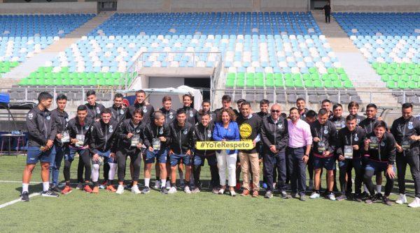 Deportes Puerto Montt se sumó a la campaña Yo te Respeto - Diario Puerto Varas