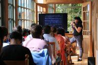 Flavia Liberona en Puerto Varas (oficinas Tompkins Conservation) - Diario Puerto Varas