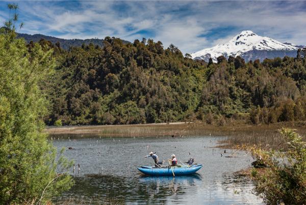 Turismo en río Puelo de Nicolo Cantarutti