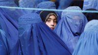 Mujeres afganas con burkas
