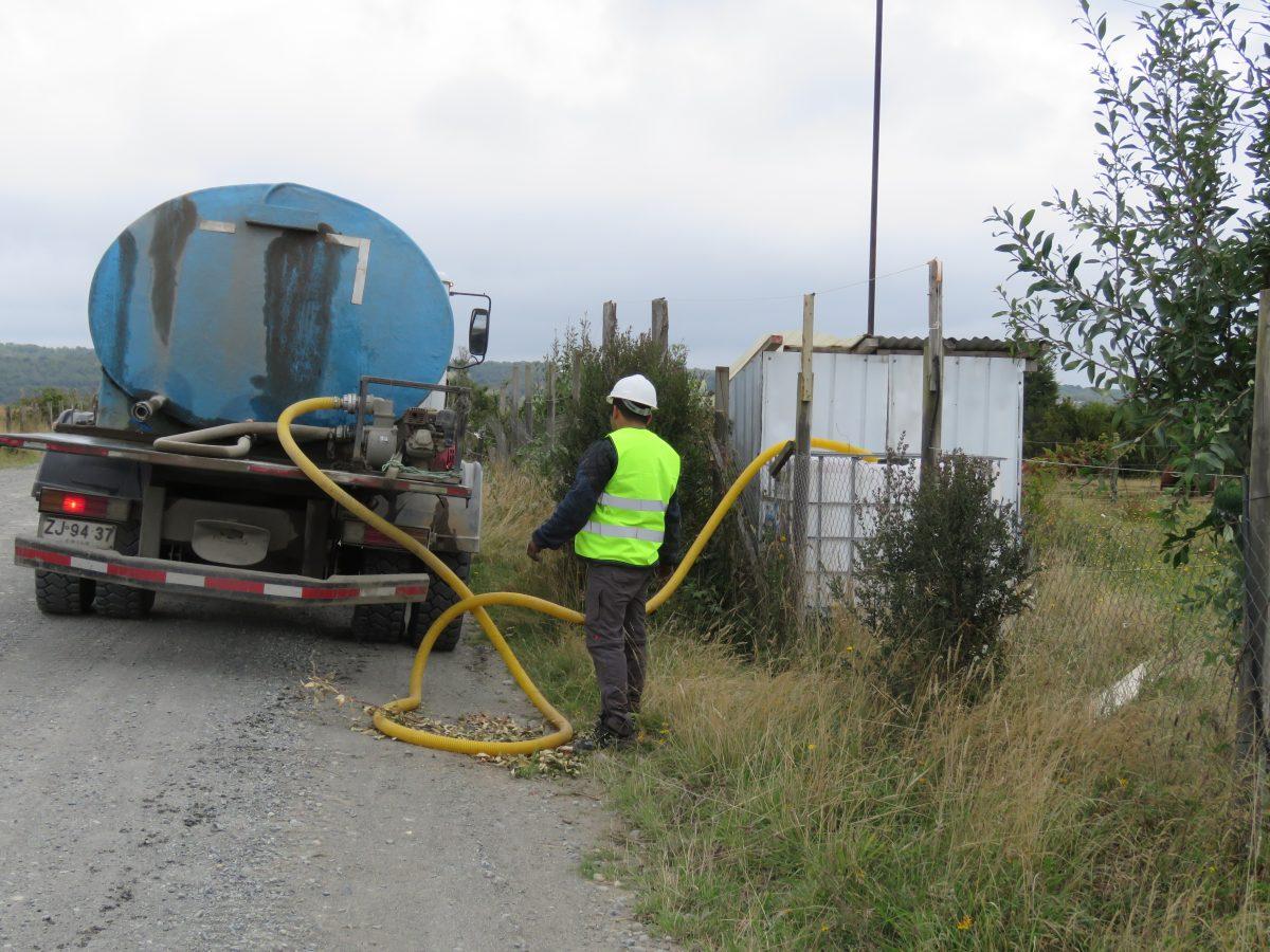 Camiones aljibes - Agua potable - Diario Puerto Varas