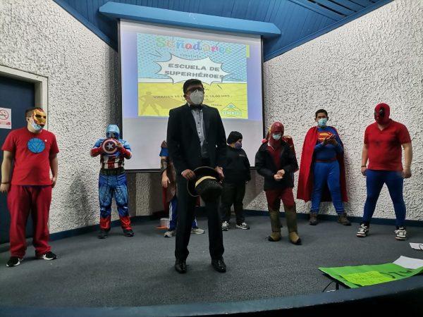 Escuela de Superhéroes tuvo una exitosa presentación